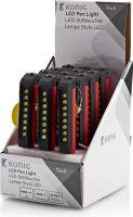 Belysning, König LED Kuglepen Lys LED Vis 12 stk, TORCH-L-PEN01