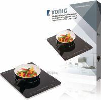 König Induction Cooker 2000 W Black, KN-INDUC-20