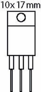 Fixapart Thyristor 600 VDC 6 A TRIAC 5/10mA, TIC216M-MBR