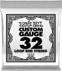 Diverse, Ernie Ball EB-1332, Single .032 Wound Loop End Stainless Steel stri