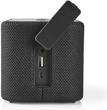 Nedis Bluetooth®-højttaler | 2 x 45 W | True Wireless Stereo (TWS) | Vandtæt | Sort, SPBT2003BK