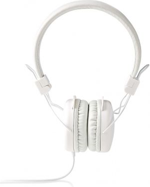Nedis Hovedtelefoner med kabel   On-ear   Foldbar   1,2 m rundt kabel   Hvid, HPWD1100WT