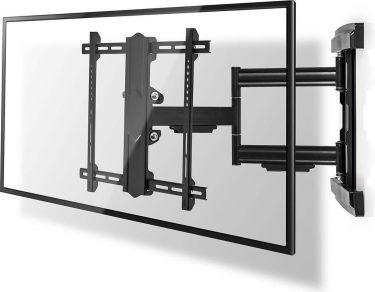 Nedis TV-veggmontering med full bevegelighet | 37-80 tommer | Maks 50 kg | 3 svingpunkter, TVWM6550B