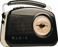König Bærbar Dab + Radio FM / AM / DAB / DAB+ AUX Sort, HAV-TR900BL