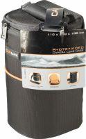Foto & Video, Camlink Camera Objektiv-Taske 110 x 210 x 100 mm Sort/Orange, CL-OB30