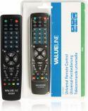 TV & Satellit, Valueline Forprogrammeret Fjernbetjening 10:1 Universal, VLR-RC001