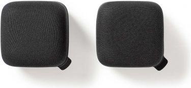 Nedis Bluetooth®-højttaler | 15 W | True Wireless Stereo (TWS) | 2 dele | Sort/sort, SPBT1000BK2