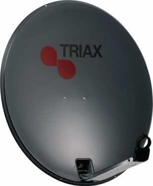 Triax Parabolantenne 78 cm 37.1 dB Antrasitt, 120711