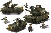 Sluban Byggeklodser Army Serie Army Set, M38-B6800