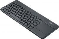 Logitech Trådløs Tastatur Standard USB US International Sort, 920-007145