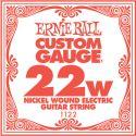 Diverse, Ernie Ball EB-1122, Single .022 Nickel Wound string for Eletric gui