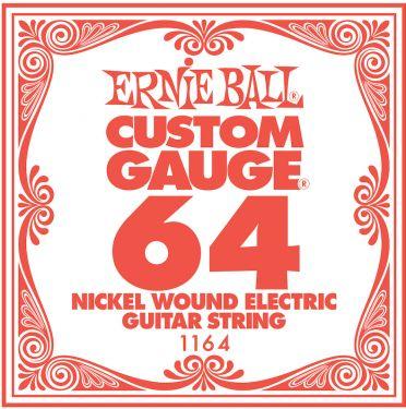 Ernie Ball EB-1164, Single .064 Nickel Wound string for Eletric gui