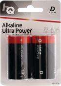 Alkaline Batteri / Størrelse D / 1.5V - 2 stk.