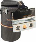 Foto & Video, Camlink Camera Objektiv-Taske 90 x 150 x 70 mm Sort/Orange, CL-OB10