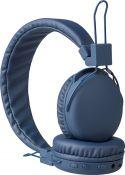 Audio, Sweex Hovedtelefoner On-Ear Bluetooth 1.00 m Blå, SWHPBT100L