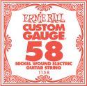 Diverse, Ernie Ball EB-1158, Single .058 Nickel Wound string for Eletric gui