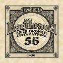 Diverse, Ernie Ball EB-1456, Single .056 Wound Earthwood 80/20 Bronze Acoust