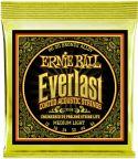 Musikinstrumenter, Ernie Ball EB-2556, Everlast Bronze Medium Light 12-54