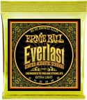 Musikinstrumenter, Ernie Ball EB-2560, Everlast Bronze Extra Light 10-50