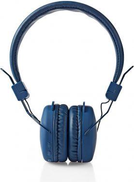 Nedis Trådløse hovedtelefoner | Bluetooth® | On-ear | Foldbar | Blå, HPBT1100BU