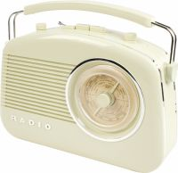 König Bærbar FM-Radio FM / AM Elfenben, HAV-TR710BE