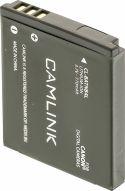 Foto & Video, Camlink Genopladeligt Lithium-Ion Batteri 3.7 V 770 mAh, CL-BATNB4L