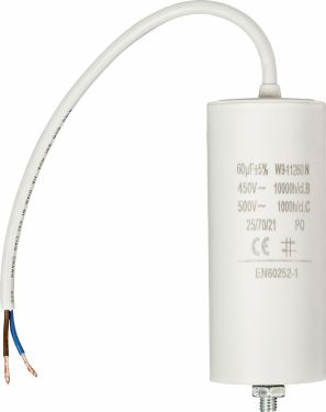 Fixapart Capacitor 60.0uf / 450 V + cable, W9-11260N