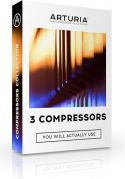 Arturia 3-Compressors download license code, 3 rare, highly-prized