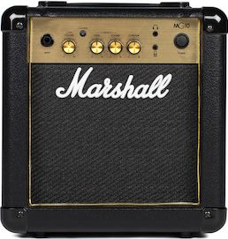 Marshall MG10G Combo, 2-channel (split) solid state combo amplifier