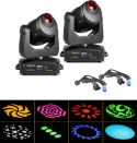 Moving Heads, BeamZ professional IGNITE150 LED Spot Moving Head - Pakke med 2 stk.