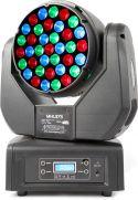 Moving Head MHL373 / 37x 3W RGB / DMX og Musikstyring