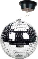 Mirror Ball 20cm with Motor