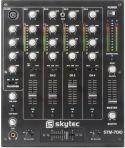 DJ Mixer med 4 kanaler og USB - Nem tilslutning af PC direkte via USB!