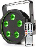 BFP120 Flat PAR lampe med 5x 8W 4-i-1 LED'er