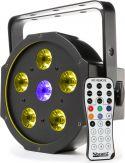 BFP110 FlatPAR 5x 6W 3-i-1 + 1x 6W UV LEDs