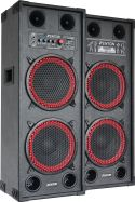 "SPB-210 PA Active Speakerset 2x 10"" Bluetooth"