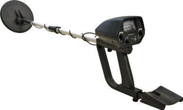 Professionel metaldetektor med lyddiskriminator og vandtæt søgehoved
