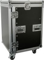 "16U 19"" rack case with wheels"