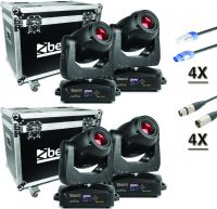 BeamZ professional IGNITE 180 Spot LED Moving Head - Pakke med 4 stk.
