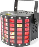 Radical II LED Derby med laser RG og strobe