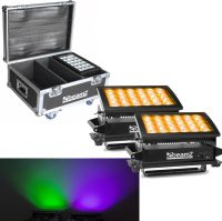 BeamZ Star-Color 360 Wash 2 x Star color 360 1x Flightcase - Pakketilbud