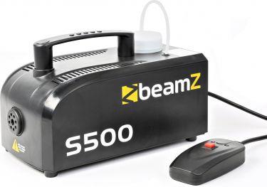 BeamZ S500P Mini røgmaskine 500W, inkl. 250ml. røgvæske