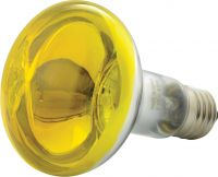 Discolampe R80 60W E27, gul