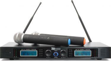 Power Dynamics 732H 2x16-kanals UHF trådløst mikrofonsæt