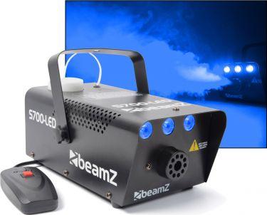 "BeamZ S700-LED Røgmaskine 700W med indbygget ""ice / is"" LED Lyseffekt"