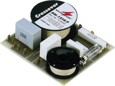 2-way crossover network for 8Ω for hi-fi and PA DN-1218P