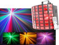 BeamZ MultiRadiant II 6x 3W RGBAWP LED med musikstyring, DMX og fjernbetjening