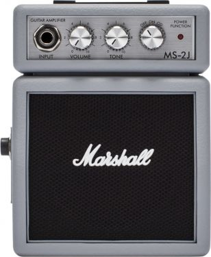 Marshall MS2SJ, This MS-2 Silver, mini half stack has bags of serio...
