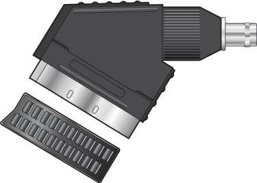 BNC / SCART adapter