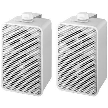 100V højttalersæt hvid EUL-42/WS